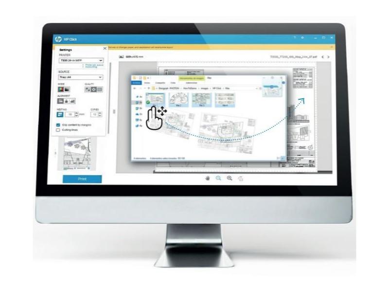 Práce s aplikací HP Click