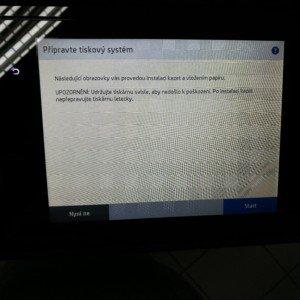 HP PageWide P77740 průvodce instalací