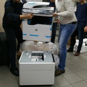 HP PageWide P77740 a její instalace