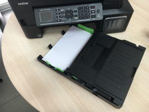 Recenze inkoustové tiskárny Brother MFC-T910DW - zásobník 2