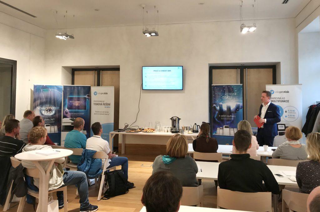 Co je SMS (servisní materiálová smlouva) a princip fungování pronájmu tiskáren vysvětlil Dalibor Janeček.